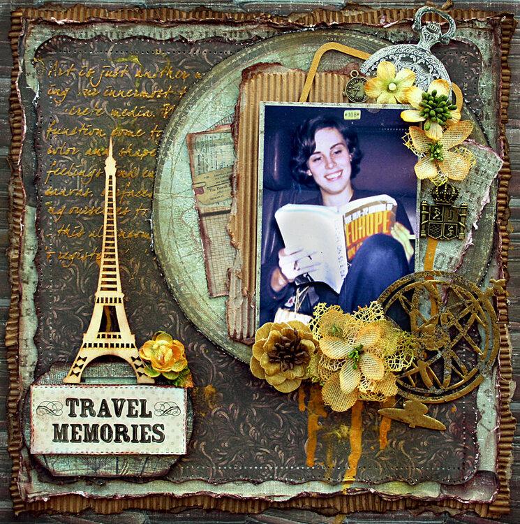 Travel Memories**Fabscraps DT - Gentlemen's Club**