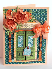 Gift card holder - Graphic 45 Artisan Style