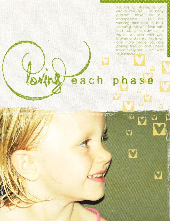 each phase
