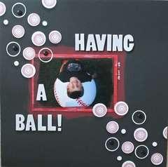 Having A Ball!