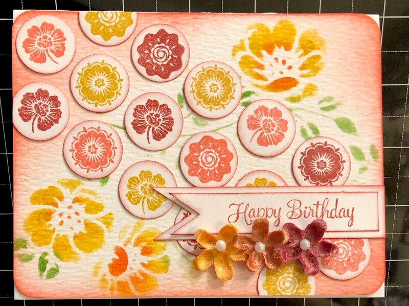 Happy Birthday (Feb. Card Sketch #2)