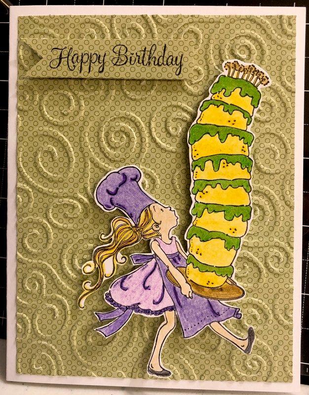 Green/Yellow Cake
