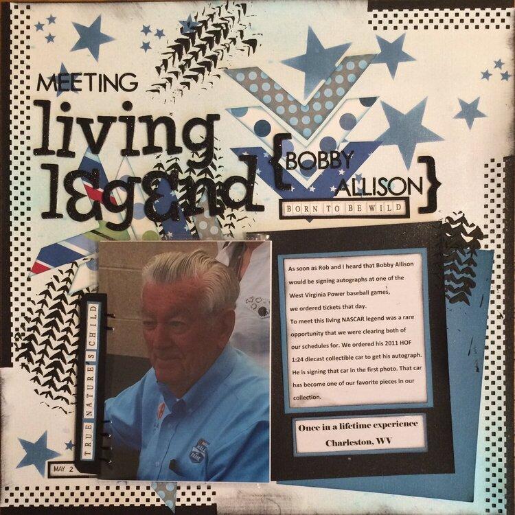 Meeting Living Legend {Bobby Allison}