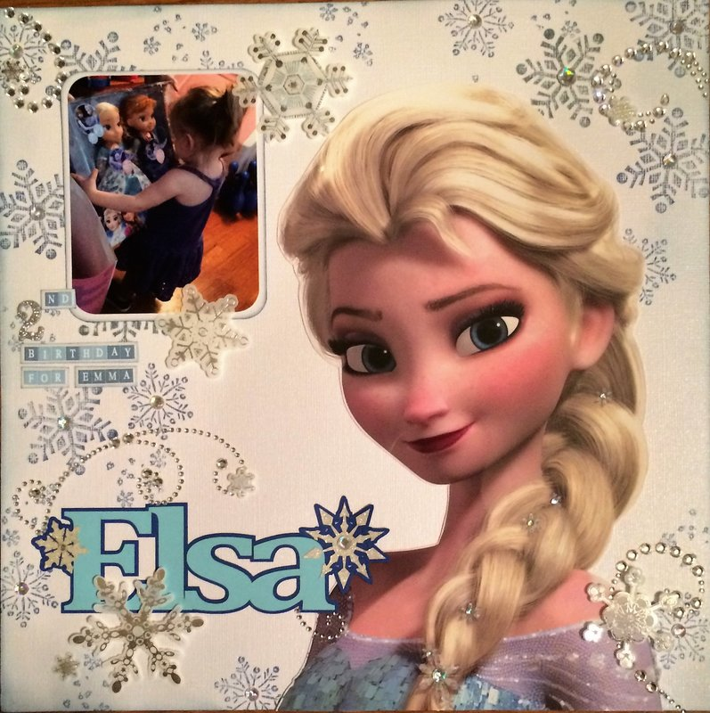 Elsa (2nd Birthday for Emma)