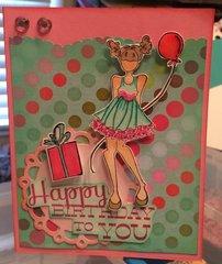 Party Girl Happy Birthday