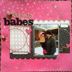 Snowday Babes *Studio Calico*
