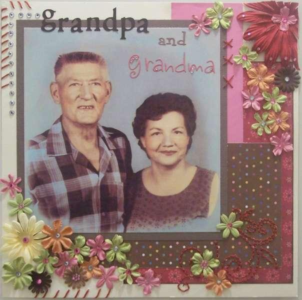 *Grandpa & Grandma*
