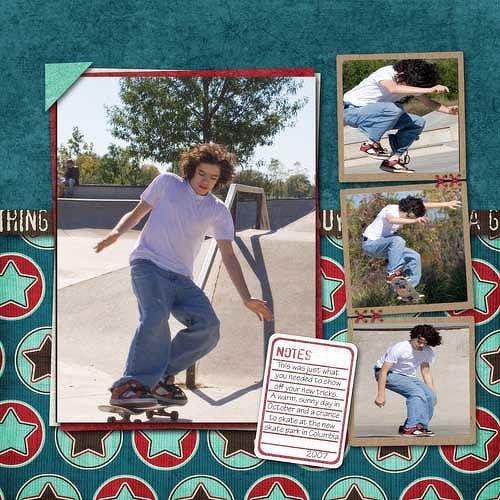 Digital LO - John at a Skatepark
