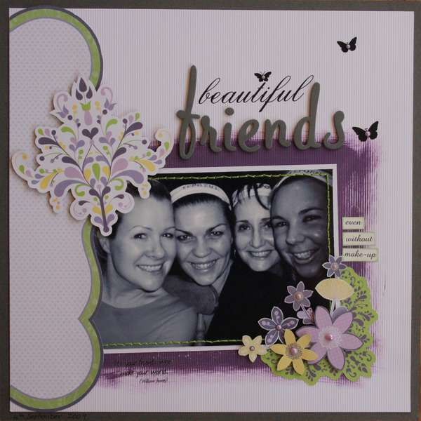 Beautiful Friends ... even without make-up