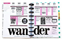 Wander Planner Page
