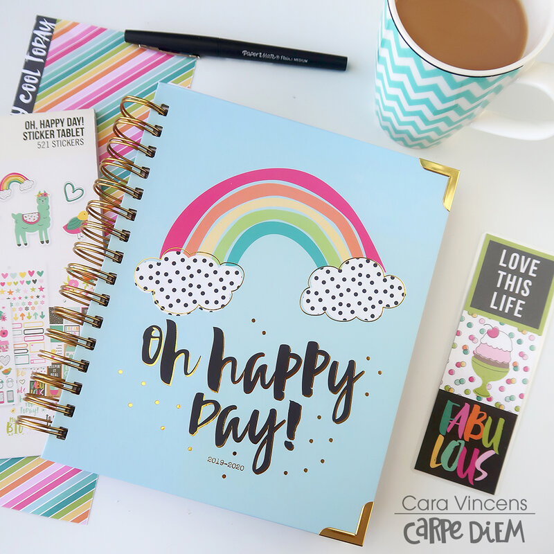 Oh Happy Day! planner setup