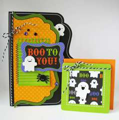 Boo to You by Kathy Martin featuring the Haunted Manor Collection from Doodlebug