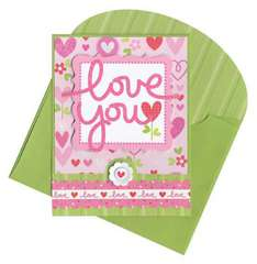 Love you by Doodlebug Design