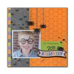 2011 Halloween by Kandis Smith featuring the Haunted Manor Collection from Doodlebug