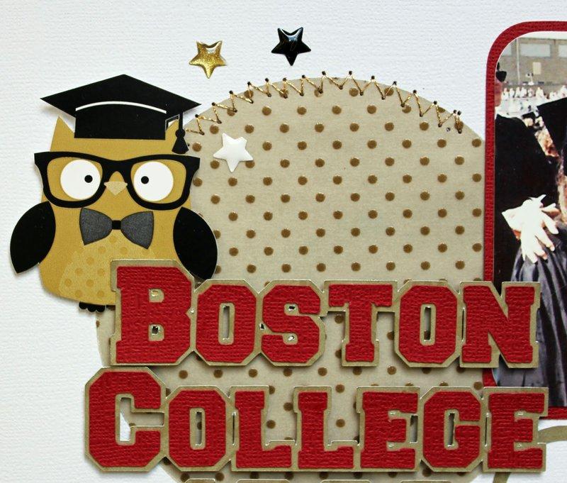 Doodlebug The Graduates:  Boston College by Kathy Skou