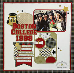 Doodlebug The Graduates:  Boston College by Kathy Skou
