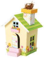 Doodlebug Easter House