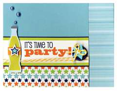 It's Time to Party featuring the Boys Only Collection from Doodlebug Design