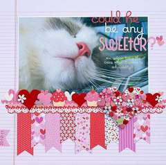 Could He Be Any Sweeter by Melinda Spinks featuring Doodlebug Sweet Cakes Collection