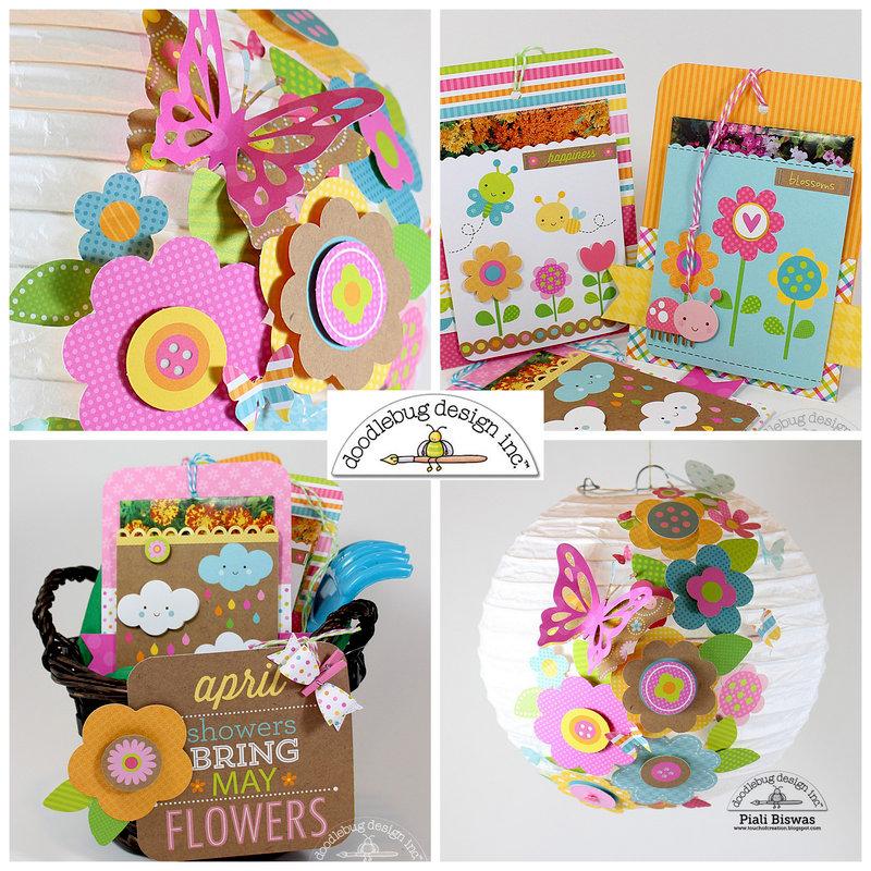 Hello Sunshine Projects by Doodlebug DT Member Piali Biswas