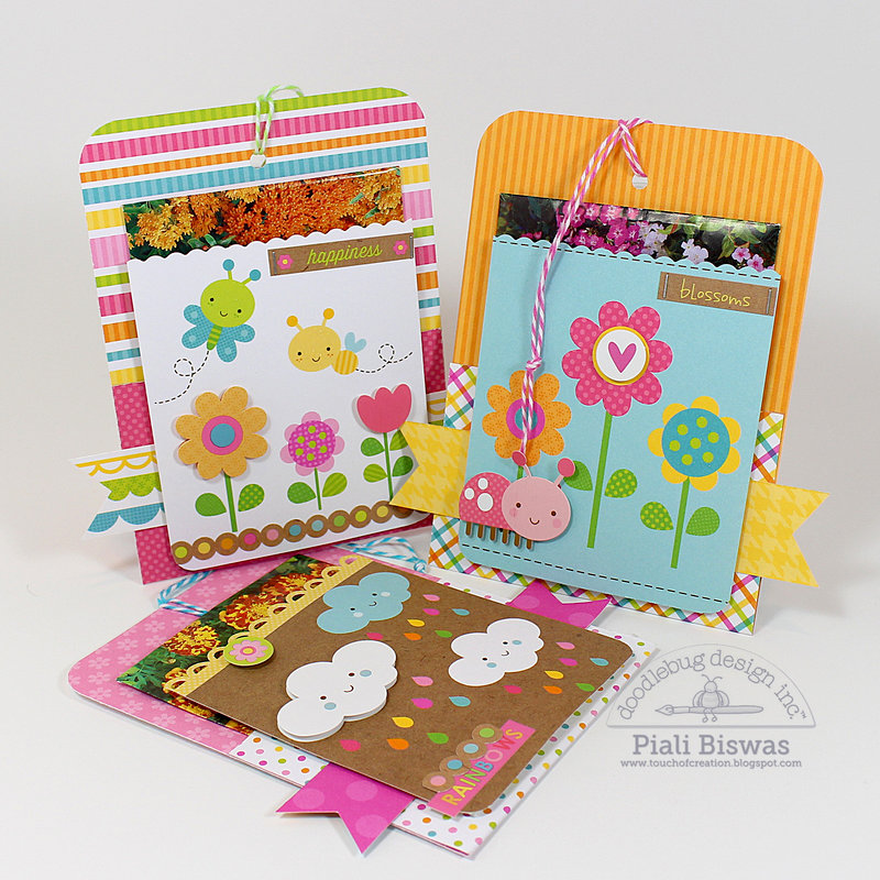 Hello Sunshine Projects by Doodlebug DT Member Piali Biswas