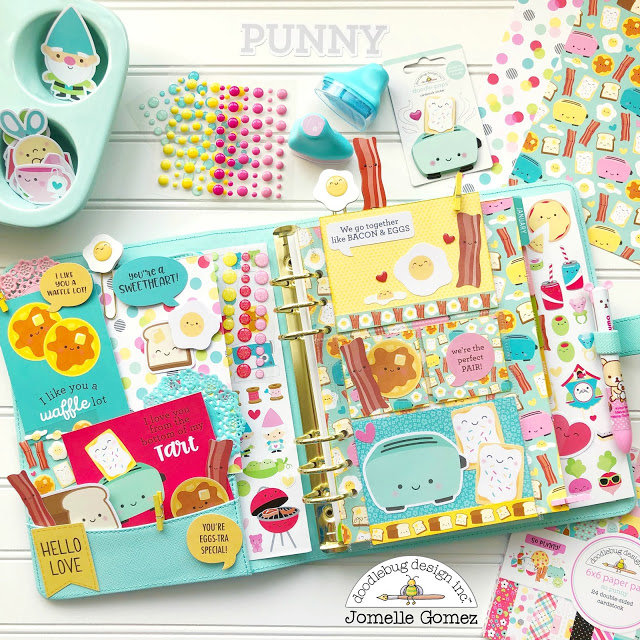 So Punny Planner Pages and Embellishments