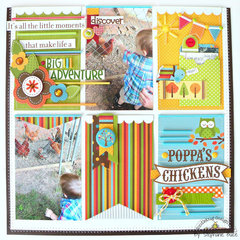 Big Adventure Layout by Stephanie Buice