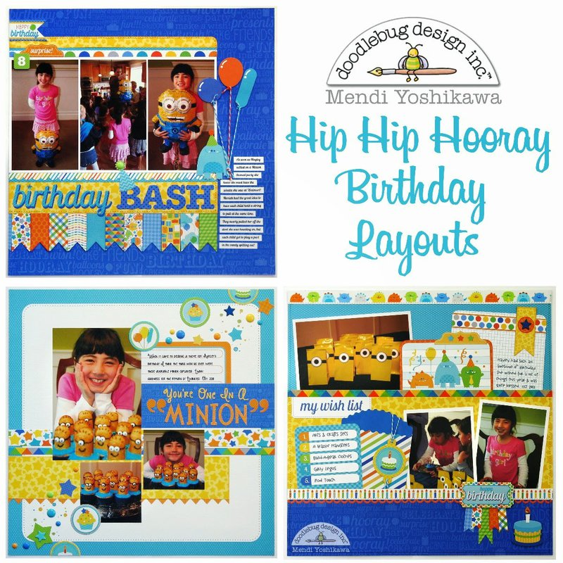 Brand New Hip Hip Hooray Collection from Doodlebug Design
