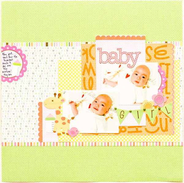 Baby Girl by Jessy Christopher featuring Sugar and Spice from Doodlebug Design