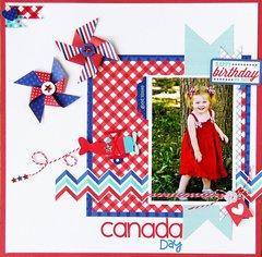 Canada Day  by Jodi Wilton