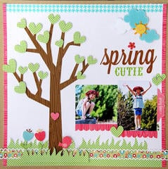 Spring b Jodi Wilton featuring the Flower Box Collection from Doodlebug