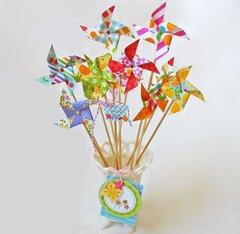 Fruit Stand Pinwheels by Kathy Martin
