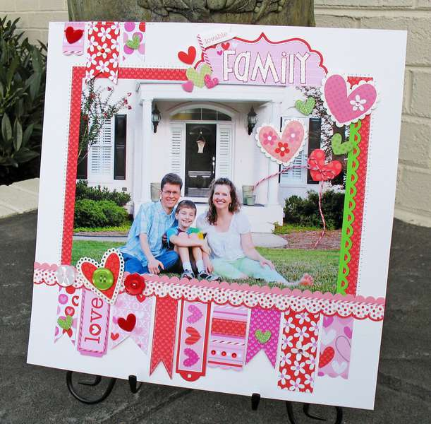 Lovable Family by Kathy Martin featuring Doodlebug Sweet Cakes Collection