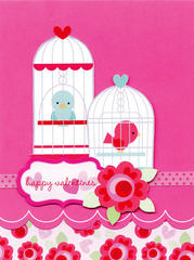 Happy Valentines Day by Doodlebug Design featuring Lovebirds