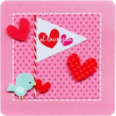I love you by Doodlebug Design