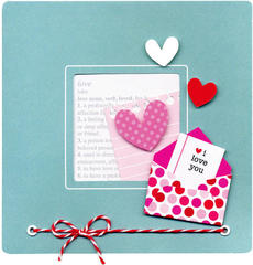 i love you by Doodlebug Design