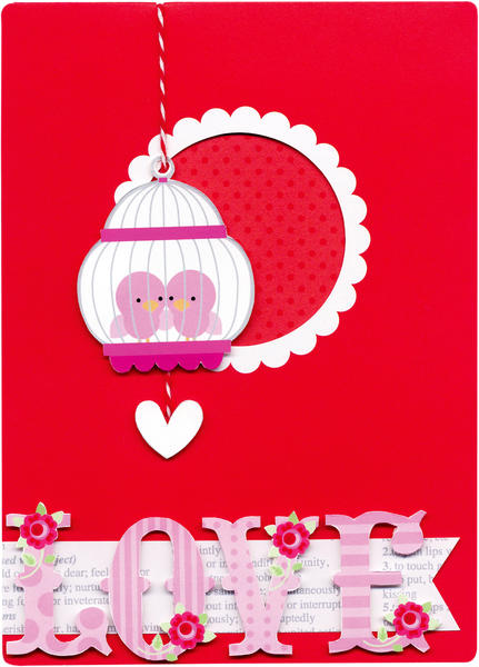 Lovebirds from Doodlebug Design