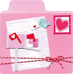 New Lovebirds Mailbox Card from Doodlebug Design