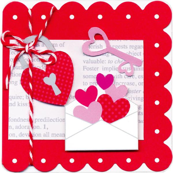 Lovebirds Envelope by Doodlebug Design