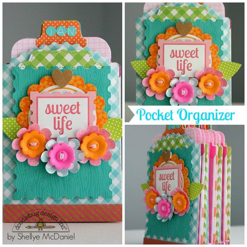 Sweet Life Pocket Organizer by Shellye McDaniel