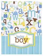 Doodlebug's Baby Boy Card