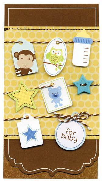 Doodlebug Snips & Snails Card