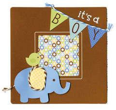 Doodlebug It's a Boy Card