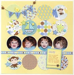 "Doodlebug's Snips & Snails ""Alex"" Layout"