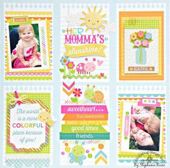 Her Momma's Sunshine Layout by Doodlebug DT Member Stephanie Buice