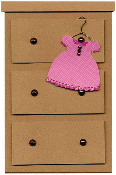 Doodlebug's Sugar & Spice Dresser Card