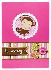Doodlebug's Lil' Monkey Card