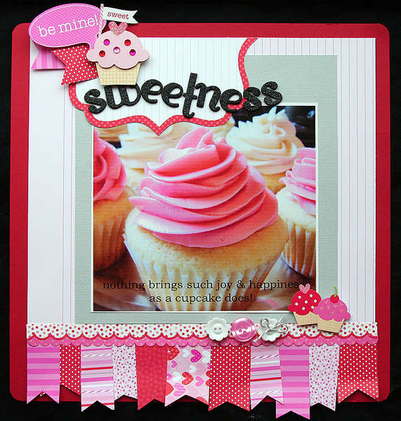 Sweetness by Elizabeth Carney featuring Doodlebug Sweet Cakes Collection