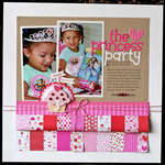 The Princess Party by Nancy Damiano featuring Doodlebug Sweet Cakes Collection