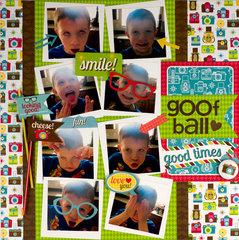 Goof Ball featuring the new Day to Day Collection from Doodlebug Design
